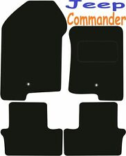 Tailored Deluxe Quality Car Mats Jeep Compass 2007-2009 ** Black **
