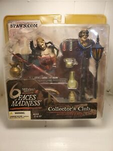 McFarlane's Monsters III 6 Faces of Madness Collector's Club Accessory Pack 2004