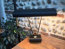 Lampe Ancienne Jumo par Eileen Gray 1950 État Parfait noir Et Cuivre