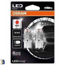OSRAM W21W 12V 7905R-02B LED Lampadine di indicazione Rosso Red Set