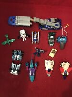 Mixed Lot Of 11 Transformers Including Mini And Tow Truck