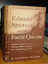 1948 Edmund Spenser And The Faerie Queene; Poems Religion, Love, Good, Evil