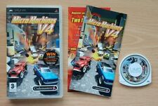 Micro Machines V4 - UK European (English language) release - PSP