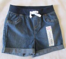 Jumping Beans Blue Denim Stretch Shorts Girls Size 18 months New