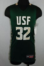 Under Armour Men's University of South Florida USF Basketball Jersey MED (020)