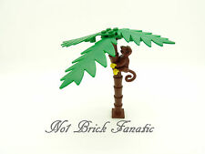 Lego Palm Tree x 1 Good Used Condition  - Monkey Sold Separately