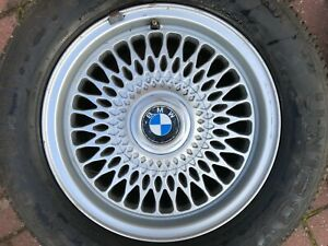 "BMW 3 SERIES E36 STYLE 17 15"" ALLOY WHEEL RIM & TYRE 1180448 7Jx15H2 OEM PART #3"