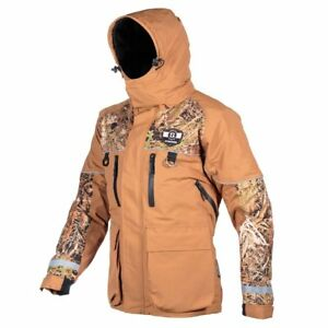 New STRIKER Ice Climate fishing jacket with flotation BROWN/CAMO