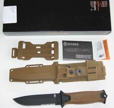 Gerber StrongARM cuchillo coyote Brown Serrated Edge made in usa-nuevo/en el embalaje original