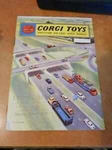 Corgi toys catalogue 1960 french version