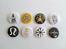 "8 1"" Annunaki Ancient Sumeria Aliens Anu pinback badges buttons"