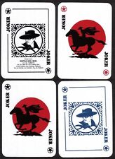 #065 ZORO Horse 4 RARE Playing Card Joker Jeu de cartes