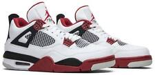 AIR JORDAN 4 RETRO FIRE RED SIZE 13 2012 WHITE/VARSITY RED-BLACK 308497-110 NEW