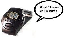 XINJIA Montre parlante français idéal malvoyant aveugle Talking watch /CD8