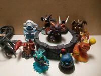 10 Lot Skylanders Activision Spyro's Adventure Action Figures Giant's 360 Portal