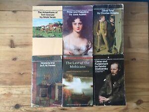 Bantam Classics | MM Book Lot of 6 | Twain/Austen/Dostoyevsky/Dickens & More!