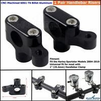 Motorcycle Handlebar Risers 1 in Custom for Harley Sportster Softail Cafe Racer