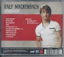 RALF MACKENBACH - Seventeen (SIGNED!!) CD Album 12TR Europop / Eurodance 2012