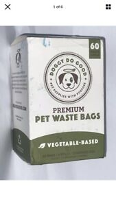 Doggy Do Good Premium Pet Waste Bags Vegetable Based - 60 Bags