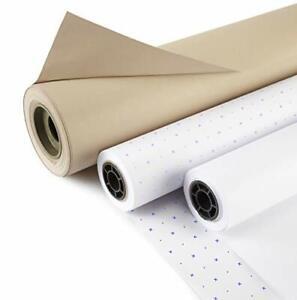 "36"" Plain White Pattern Marking Paper x 50mts"
