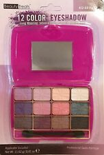 Beauty Treats 12 Color Eyeshadow with Mirror Purple