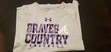Under Armour Atlanta Braves shirt . 2XL loose. Excellent Condition.