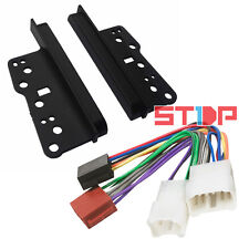 TOYOTA PRADO 120 SERIES DOUBLE-DIN SIDE TRIMS + ISO WIRING HARNESS facia fascia