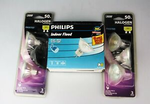 Lot of 10 PHILIPS Indoor Flood & Landscape 50w & Feit Electric GU10 Halogen MR16