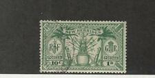 New Hebrides - British, Postage Stamp, #42 Used, 1925