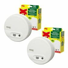 2 x Kidde Firex KF10 (4870) Smoke Alarm Mains / Battery Back Up Ionisation