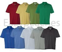 ADIDAS GOLF - Men's ClimaLite Tech, Cool Pencil Stripe Polo Sport Shirt, A60