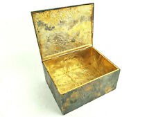 Rare Authentic TIFFANY&Co. Sterling Silver 925 Antique Jewelry Case Trinket Box
