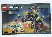 Lego instruction booklet -Ultra Agents: Spyclop's Infiltration 70166