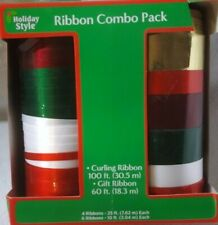 New 160' Curling Ribbon Christmas Holiday Gift Wrapping Decoration Ribbons