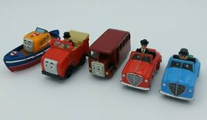 Thomas & Friends Diecast Lot Sir Topham Mr. Percival Winston Captain & Bertie