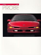 FORD PROBE COUPE GT Prospekt Brochure USA Hochglanz 1992 6