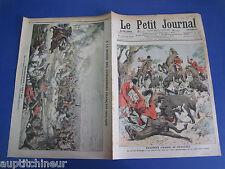 Le petit journal 1906 840 Mort Roi Portugal lors d'une chasse au sanglier