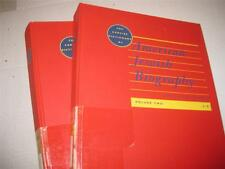 2 BOOK SET The Concise Dictionary of American Jewish Biography by Jacob R Marcus