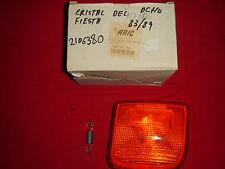 TULIPA PILOTO DELATERO DCHO AMBAR FORD FIESTA 83-89, MARCA ARIC 117006 , NUEVO