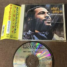 MARVIN GAYE What's Going On BVCM-5011 w/OBI 1990 BMG Victor reissue Free S&H/P&P