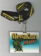 2007 Mega Con Comic Convention Badge ~Ethan Van Sciver Art