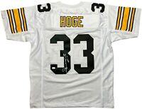 Merril Hoge autographed signed jersey NFL Pittsburgh Steelers JSA COA