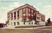 MASONIC TEMPLE, McALESTER, OK 1909