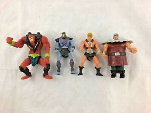 Lot of 4 - McDonalds - Masters of the Universe - Action Figures - 2003 - MUTU