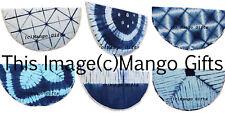 Round Mandala Hippy Tie-dye Tapestry Beach Throw 100%Cotton Mat Blanket Lot 6 Pc