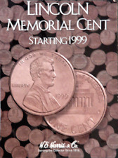 H.E. Harris Lincoln Memorial Cent Coin Folder Book #2 1999-2008 #2705