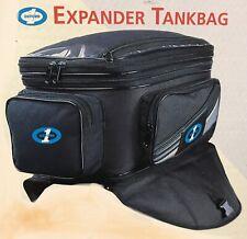 Oxford1 Expander Tank Bag 38L motorcycle Black