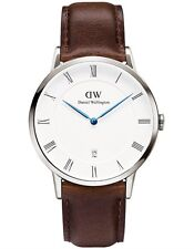 Daniel Wellington Watch * 1123DW Dapper Bristol 38MM Brown Leather COD PayPal