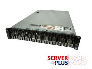Dell PowerEdge R720XD 2.5 Server, 2x 2.7GHz 12Core E5-2697V2 256GB 24x Tray H710