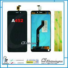 "ZTE Blade A452 5"" assemblato Touch screen + Display LCD nero  + biadesivo"